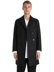 Mackintosh Rubberized Wool Coat
