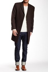 Kenneth Cole Slim Collection Raburn Coat Brown