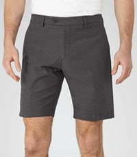 Reiss State Mens Jacquard Weave Shorts In Blue
