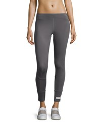 Adidas By Stella Mccartney The Performance 7 8 Length Compression Tights Granite Gray