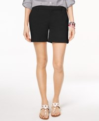 Tommy Hilfiger Hollywood Chino Shorts Created For Macy's Black