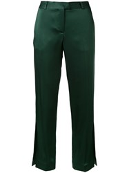 Christopher Kane 'Cady' Trousers Women Acetate Viscose 44 Green
