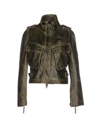 Blauer Coats And Jackets Jackets Women Military Green