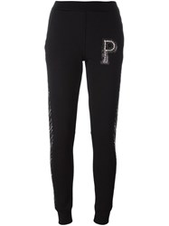 Philipp Plein 'Concrete' Track Pants Black