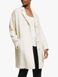 Eileen Fisher Boxy Coat Soft White
