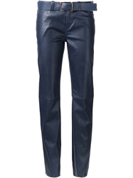 Jitrois 'Lena' Belted Trousers Blue