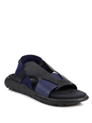 Y 3 Qasa Elle Sandals Black Blue