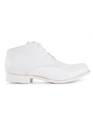 The Last Conspiracy 'Hall' Ankle Boots White