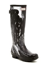 Hunter Original Nightfall Waterproof Wellington Boot Black