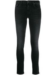 7 For All Mankind Illusion Universe Skinny Jeans 60