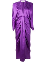 Nineminutes Thearies Dress Purple