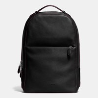 Coach Metropolitan Soft Backpack In Refined Pebble Leather Black Antique Nickel Black