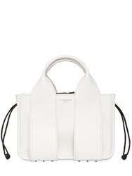 Alexander Wang Small Rocco Leather Tote Bag White