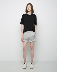 Rag And Bone Jean Boyfriend Short Heather Grey