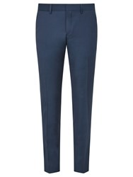 J. Lindeberg Comfort Stretch Wool Slim Suit Trousers Teal