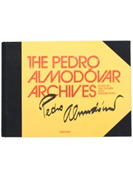 Taschen The Pedro Almodovar Archives Book Yellow And Orange