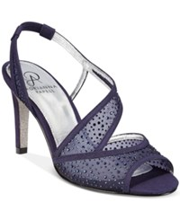 Adrianna Papell Andie Evening Sandals Women's Shoes Midnight