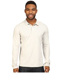 Arc'teryx Captive Long Sleeve Polo Mica Men's Long Sleeve Pullover Beige