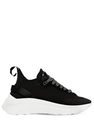 Dsquared 50Mm Icon Knit Pull On Sneakers Black