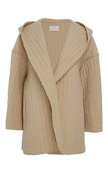 Lauren Manoogian Kendo Hooded Coat Tan