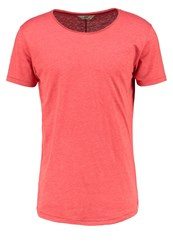 Lee Shaped Casual Fit Basic Tshirt Faded Red