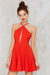 Nasty Gal Flirtationship Keyhole Dress
