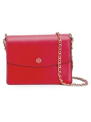 Tory Burch Chain Strap Crossbody Bag Red