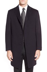 Hickey Freeman Classic Fit Cashmere Topcoat