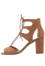 Dorothy Perkins High Heeled Sandals Brown