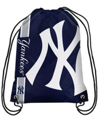 Forever Collectibles New York Yankees Big Logo Drawstring Bag Navy