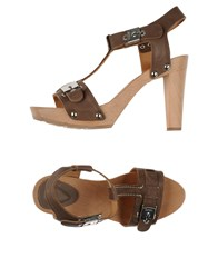Scholl Footwear Sandals Women Khaki