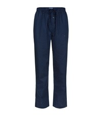 Polo Ralph Lauren Polka Dot Pyjama Trousers Male Navy
