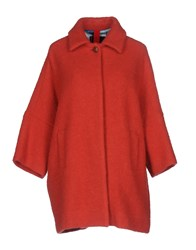 Femme By Michele Rossi Coats Red