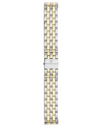 16Mm Urban Mini Two Tone Bracelet Michele Silver