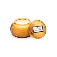 Voluspa Japonica Embossed Glass Candle Baltic Amber