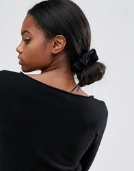 Asos Basic Hair Scrunchie Black