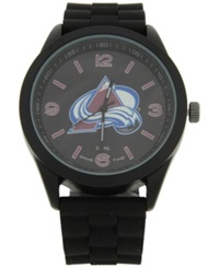 Game Time Colorado Avalanche Pinnacle Watch Black