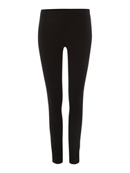 Label Lab Ruched Hem Leggings Black