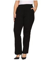 B Collection By Bobeau Curvy Plus Size Piper Trousers Black Women's Dress Pants