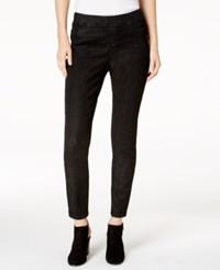 Eileen Fisher Organic Cotton Blend Pull On Jeggings Regular And Petite Vintage Black