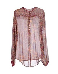Nougat London Blouses Garnet