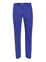 Topman Noose And Monkey Bright Blue Suit Pants