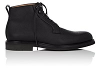 Heschung Pin Grained Leather Boots Black