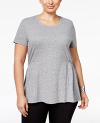 Styleandco. Style Co. Plus Size Peplum Top Only At Macy's Deep Black