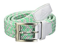Adidas Golf Braided Weave Belt Grey Two Hi Res Green Belts Gray