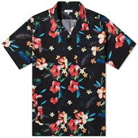 Engineered Garments Hawaiian Camp Shirt Black