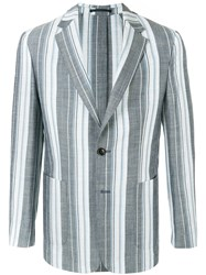 Cerruti 1881 Striped Formal Blazer Multicolour