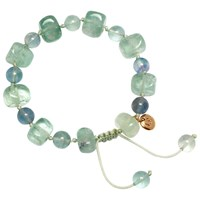 Lola Rose Sury Bracelet Light Green Fluorite