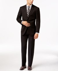 Tommy Hilfiger Slim Fit Solid Black Suit