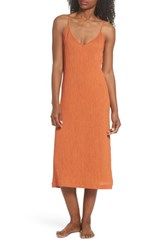 Lacausa Spice Nightgown Cayenne